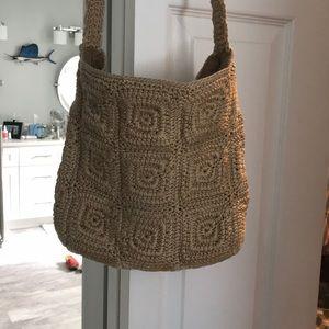 The Sak Crochet Crossbody/ Shoulder Bag